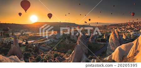 Cappadocia valley at sunrise 20205395