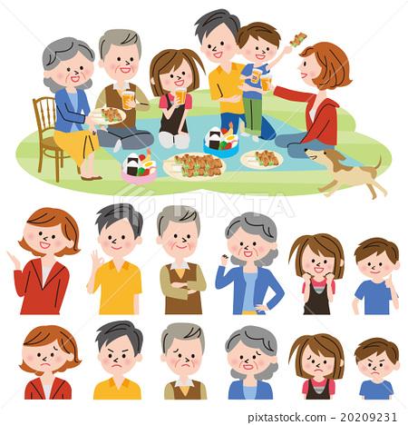 家庭 家族 家人 20209231