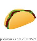 fast food 20209571