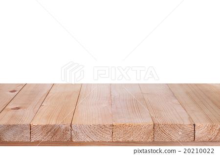 Wood Table Top On White Background Stock Photo 20210022 PIXTA
