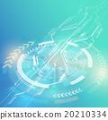 抽象 矢量 循環 20210334