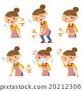 症状 女性 女 20212306