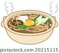 乌冬面 陶壶 食品 20215115