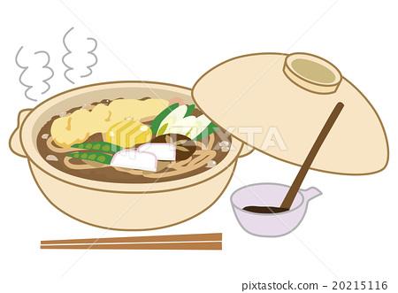 Miso stewed udon Nagoya meat 20215116