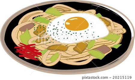 Fried noodles 20215119