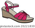 Purple womans sandal 20221830