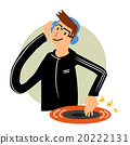 DJ dance cartoon character 20222131