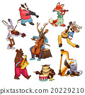 Musician cartoon animals 20229210