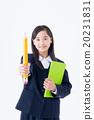 初中生 中学生 微笑 20231831