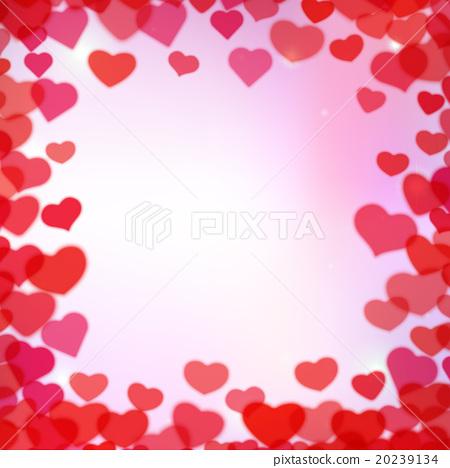 Valentines Day background - Stock Illustration [20239134] - PIXTA