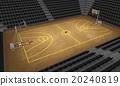 Basketball stadium , 3d  20240819