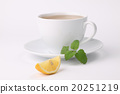 Lemon balm tea with lemon 20251219