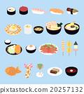 碟 插圖 米飯 20257132