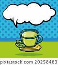 drink doodle, speech bubble 20258463