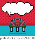 bridge doodle, speech bubble 20261630