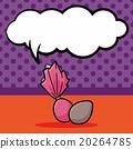 chocolate doodle, speech bubble 20264785