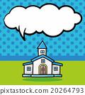 building doodle, speech bubble 20264793