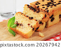 sponge cake with chocolate chips 20267942