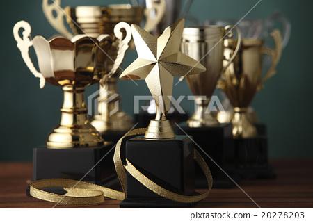 Stock Photo: trophies