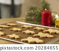 Plain gingerbread man 20284655