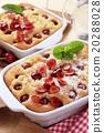 Cherry sponge cakes 20288028