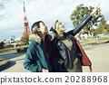 白人 東京鐵塔 觀光 20288968