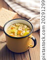 vegetable soup with pasta 20291299