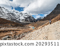 Trekking in Everest region, Himalayas of Nepal 20293511
