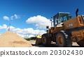 推土機 鵝卵石 砂礫 20302430