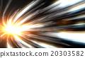 速度感 效果 光線 20303582