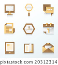 icon, vector, web 20312314