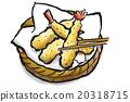 天妇罗 天妇罗虾 虾 20318715
