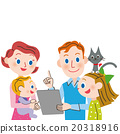 父母和小孩 親子 家庭 20318916