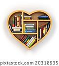 書架 貨架 書籍 20318935
