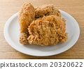 A Plate of Delicious Deep Fried Chicken 20320622