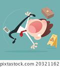 Businessman slipping 20321162