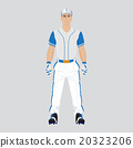 Baseball player uniform  20323206