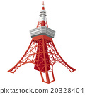 Illustration of Tokyo Tower 20328404
