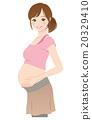 女性 在懷孕期間 妊娠 20329410