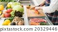 烹飪 關閉 切片 20329446