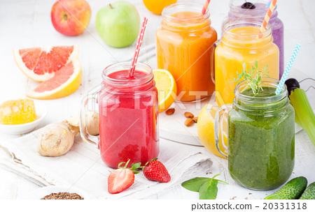 Smoothies, juices, beverages, drinks variety  20331318