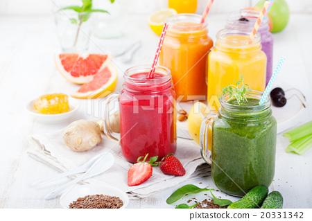 Smoothies, juices, beverages, drinks variety  20331342