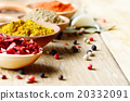Spoons with spices 20332091