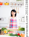 主婦 家庭主婦 廚房 20332288