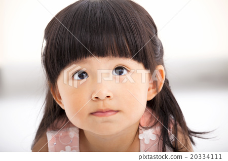 54fec8f457a2 closeup sweet asian little girl face - Stock Photo  20334111  - PIXTA