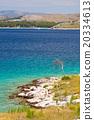 Panoramic views of the croatian coast, Dalmatia 20334613