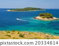 Panoramic views of the croatian coast, Dalmatia 20334614