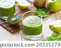 Spinach with Apple and Kiwi smoothie 20335279