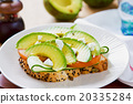 Avocado with Feta sandwich 20335284