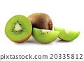 水果 奇异果 切片的 20335812
